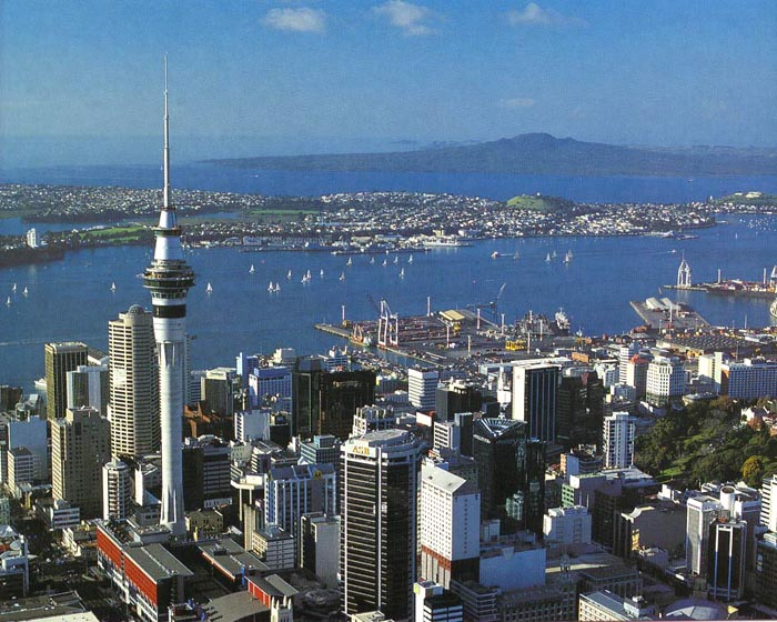 New Zealand World Most Beautiful Places New Zealand Auckland