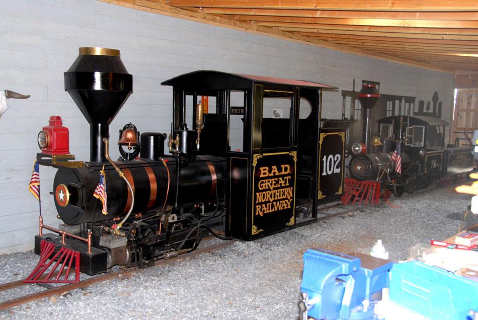Steam Trains, Grand Scale Railroad, 15