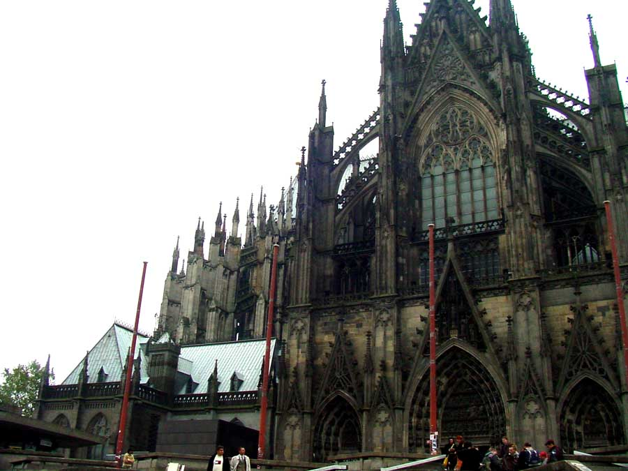 Famous Cologne Cathedral 1100 A D